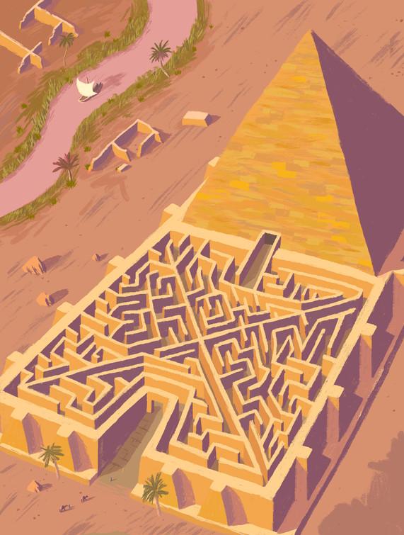 Tomb of the Pharaoh, Amenemhet III