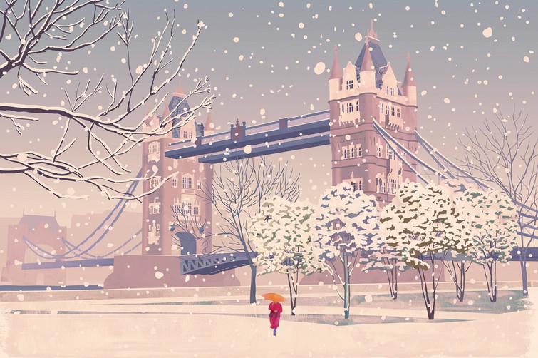 Tower Bridge / Greetings Card