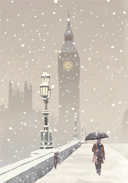 Big Ben / Greetings Card