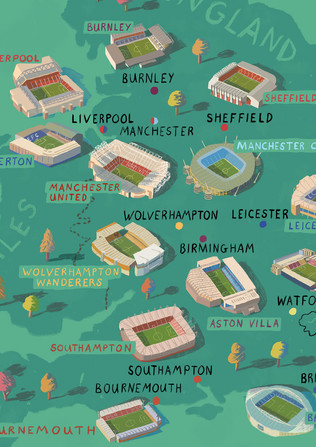 Football Club Map / Personal