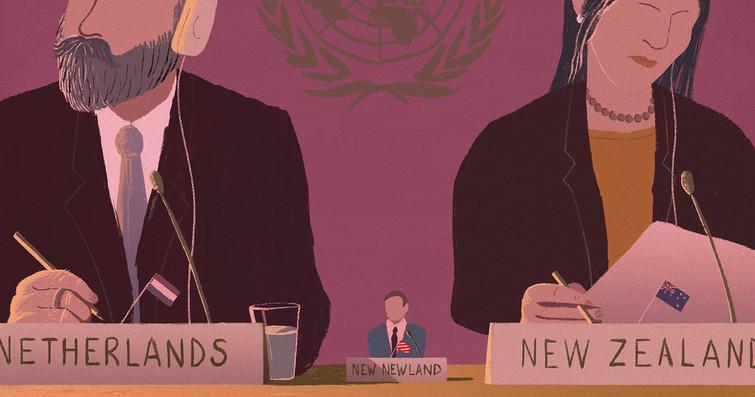 Micronation in the U.N.