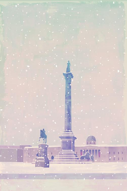 Trafalgar Square / Greetings Card