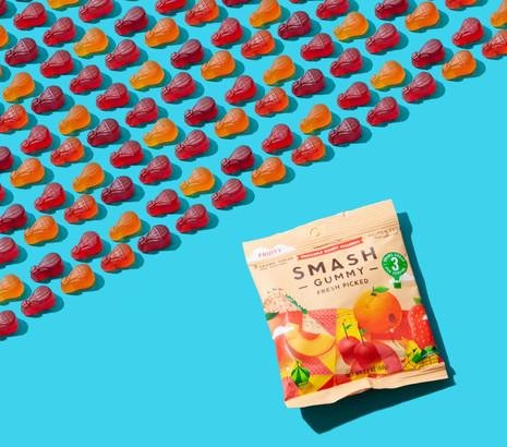 Smash Gummy, Snackapade