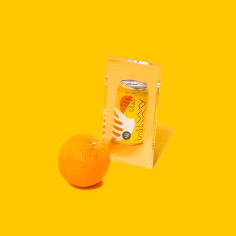 Minna, Sparkling Citrus Black Iced Tea