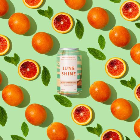 Juneshine, Blood Orange Mint