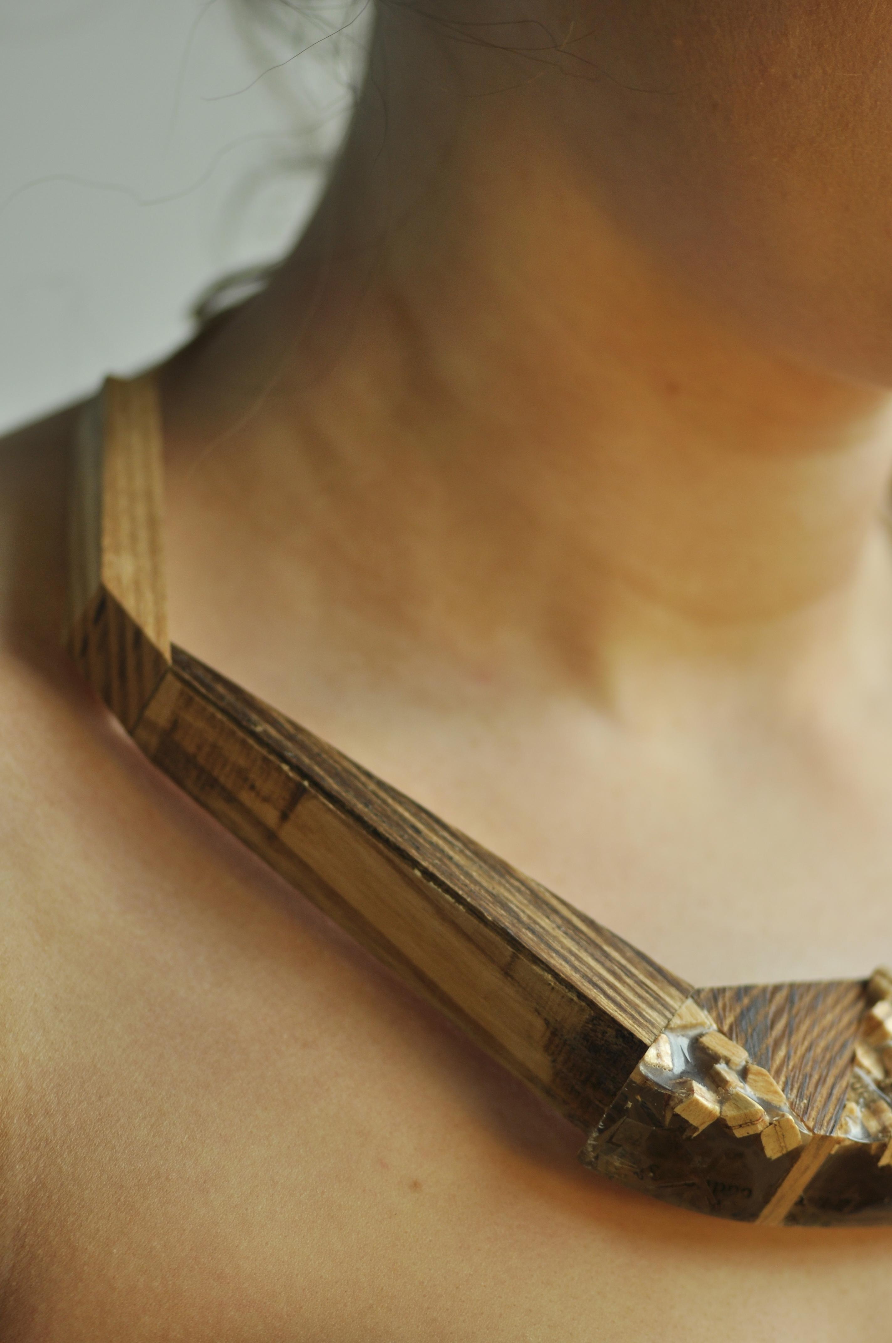 paper, resin, wood. (3)