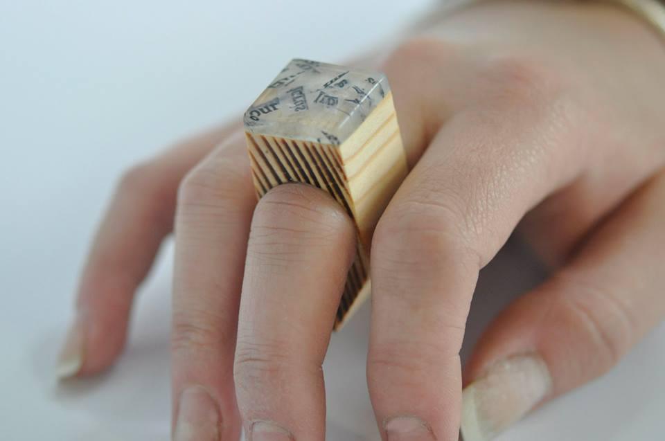 paper, resin, wood. (10)