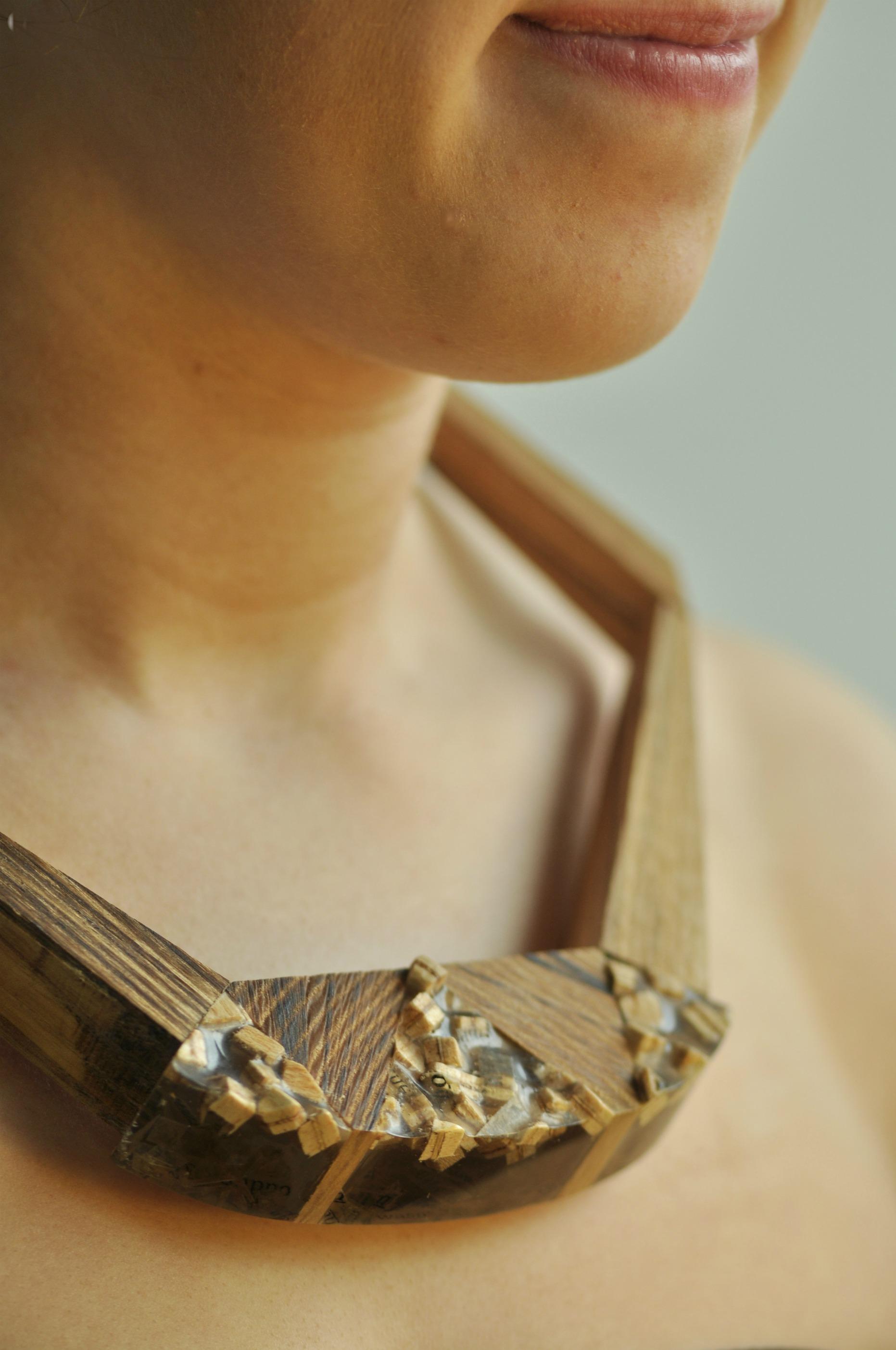 paper, resin, wood. (4)
