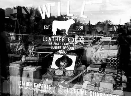 The Start of it All | Will Leather Goods solo pop-up show