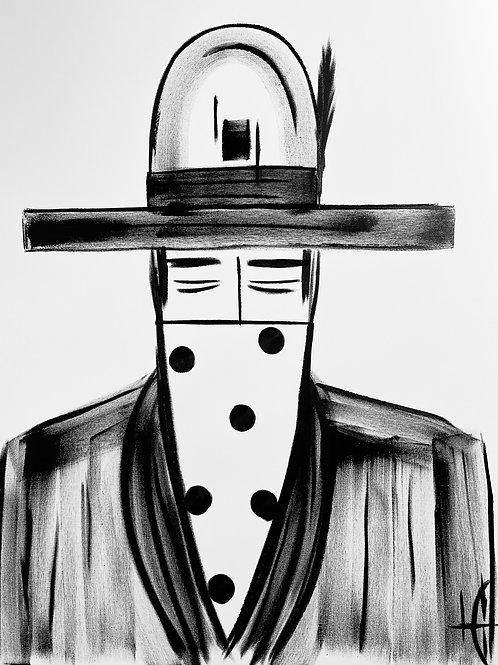 Man in Hat 579