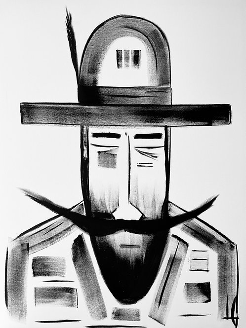 Man in Hat 588