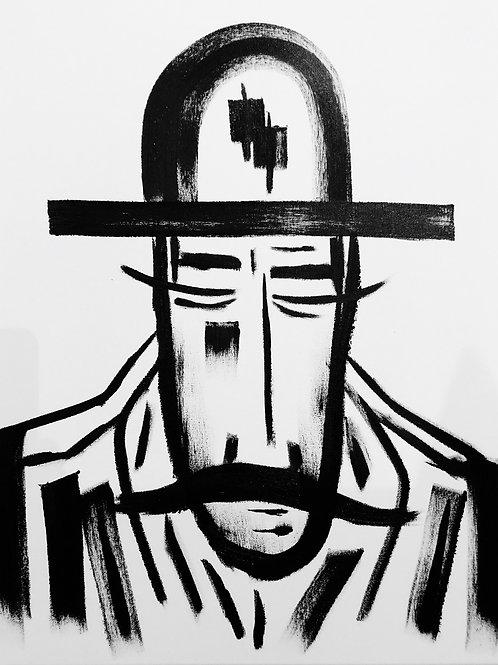 Man in Hat 453