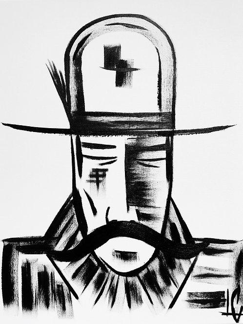 Man in Hat 434