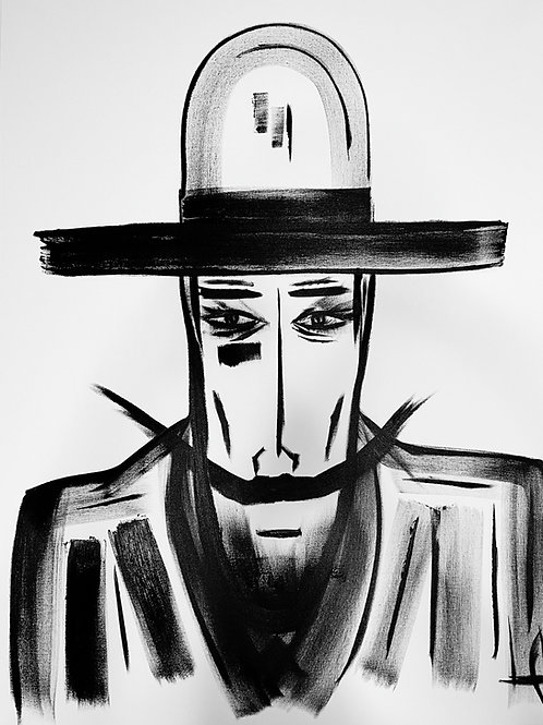 Man in Hat 575