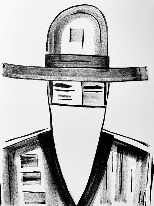 Man in Hat 555