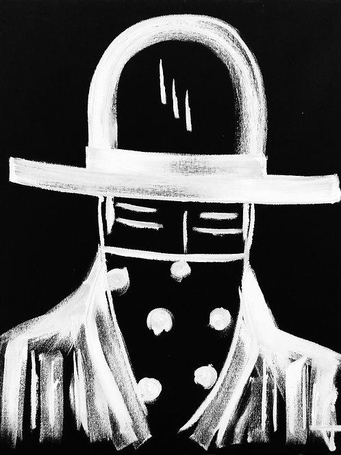 Man in Hat 470