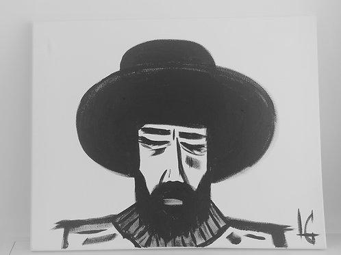 Hombre con sombrero 330