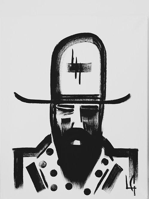 Man in Hat 358