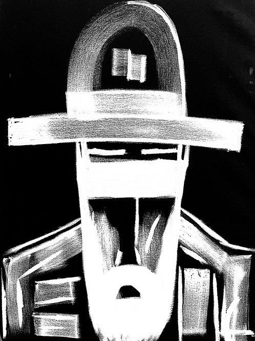 Man in Hat 571