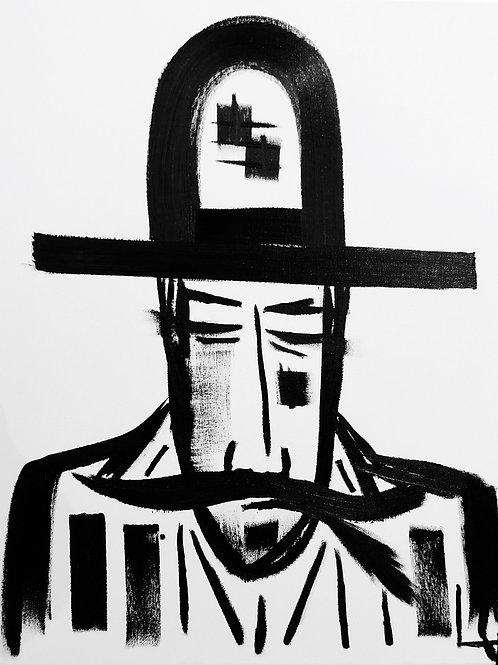 Man in Hat 452