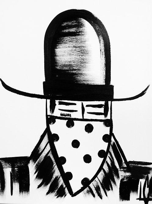 Man in Hat 414