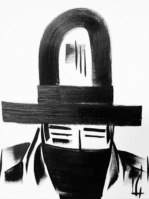 Man in Hat 418