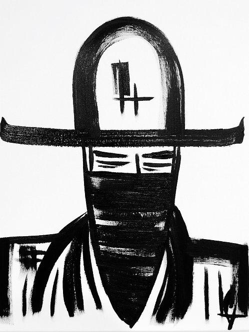 Man in Hat 438