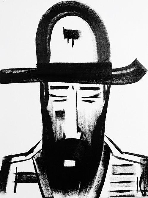 Man in Hat 486