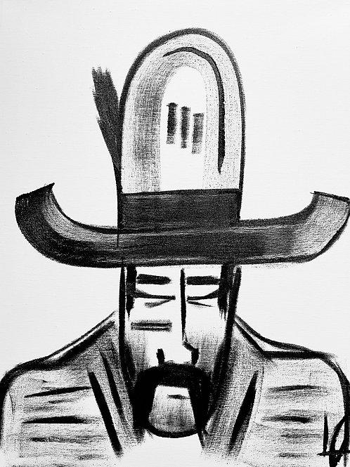 Man in Hat 585