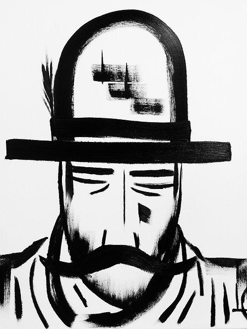 Man in Hat 413