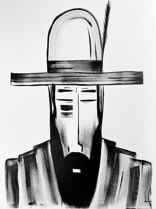 Man in Hat 553