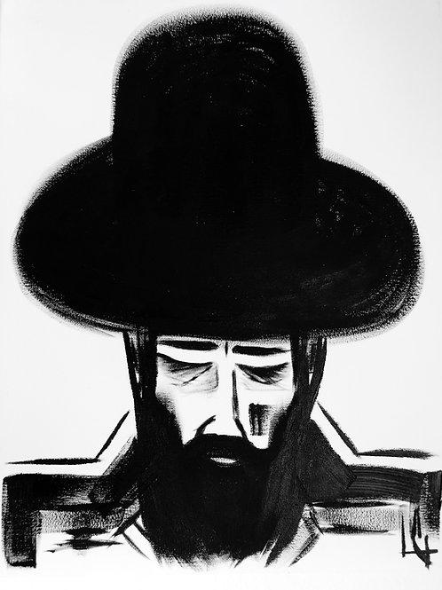 Man in Hat 397