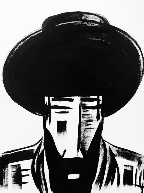 Man in Hat 412