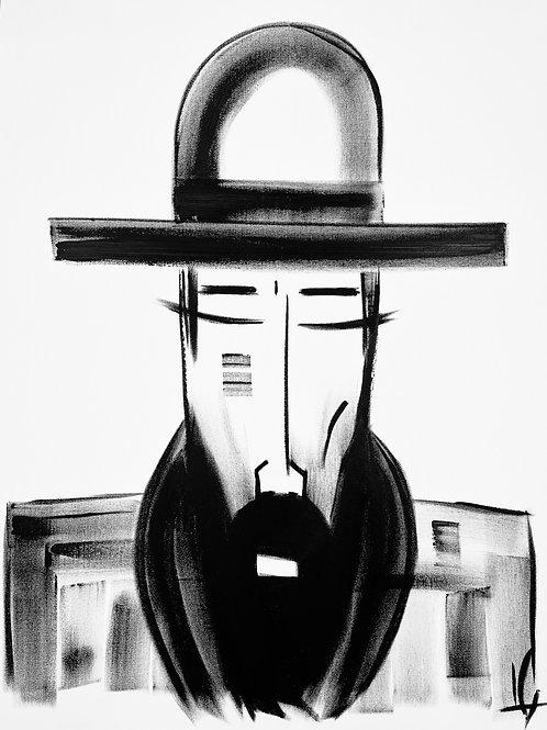 Man in Hat 586