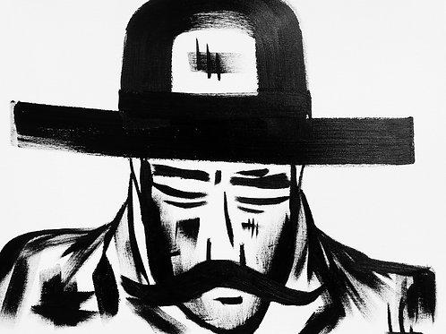 Man in Hat 410