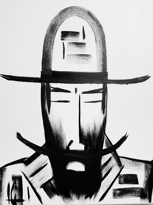 Man in Hat 484