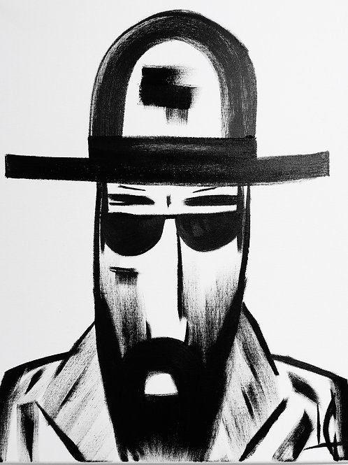 Man in Hat 485