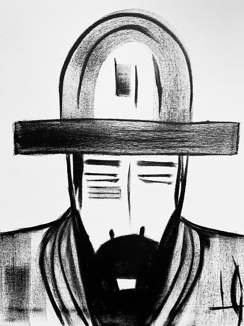 Man in Hat 542