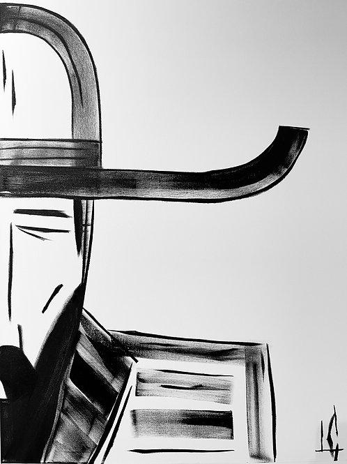 Man in Hat 556