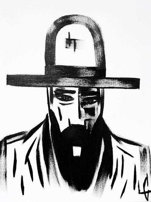 Man in Hat 439
