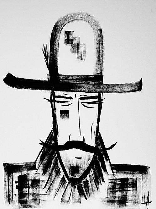 Man in Hat 594