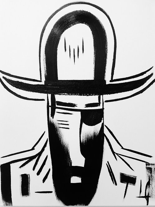 Man in Hat 508