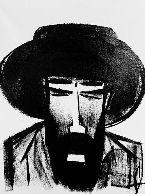 Man in Hat 514