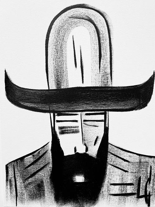 Man in Hat 595