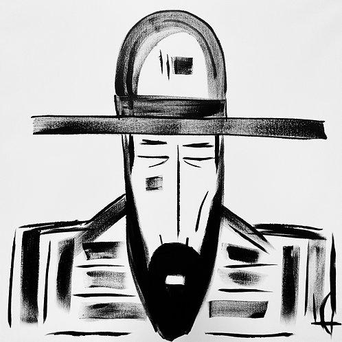 Man in Hat 572