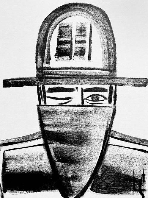 Man in Hat 559