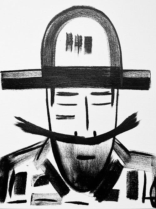 Man in Hat 565