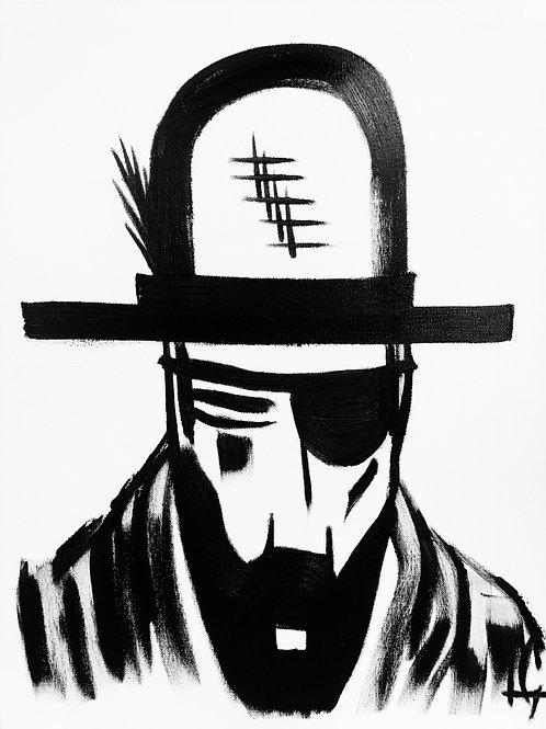 Man in Hat 421
