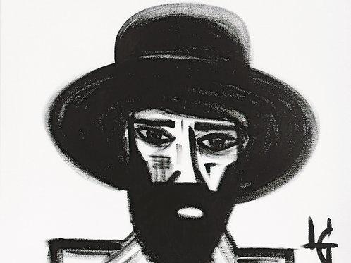 Hombre con sombrero 335