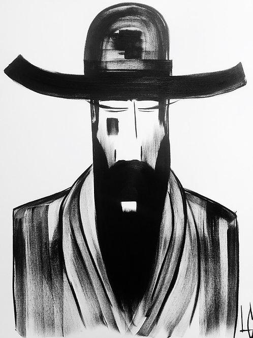 Man in Hat 504